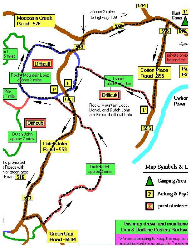 may 18 - 20 URE campout and wheeling - Page 3 Route-1a