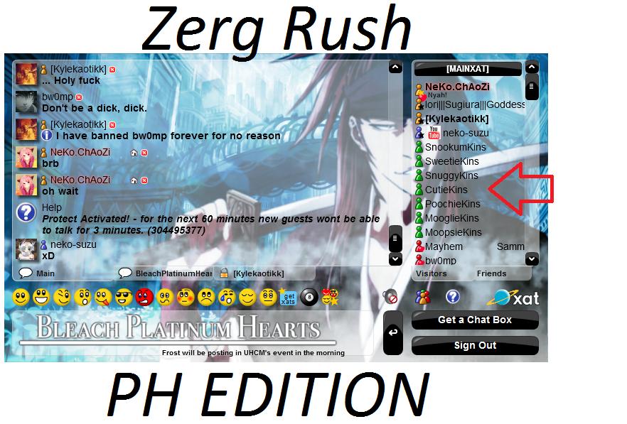 PH GOT ZERG RUSHED! Zergrush