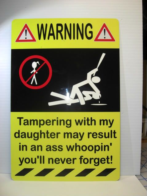 Daughter sign 038