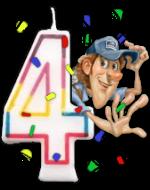 CC's 4th Birthday Bash