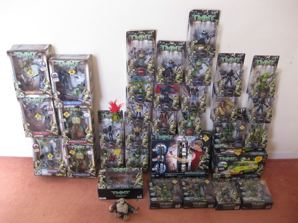 TMNT movie toy collection 2007 by playmates IMG_3092