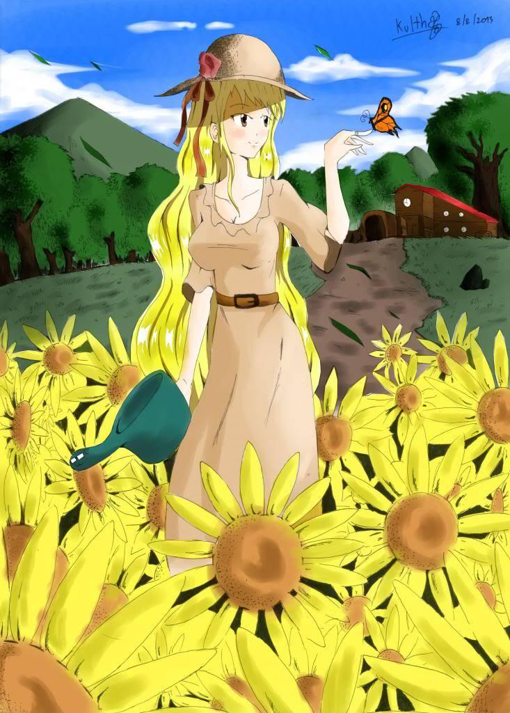 [Gallery]Kulthawat[Gallery]อัพเดต 17/10/11 - Page 2 Sun_flower_girl_color_zpse9fc3941