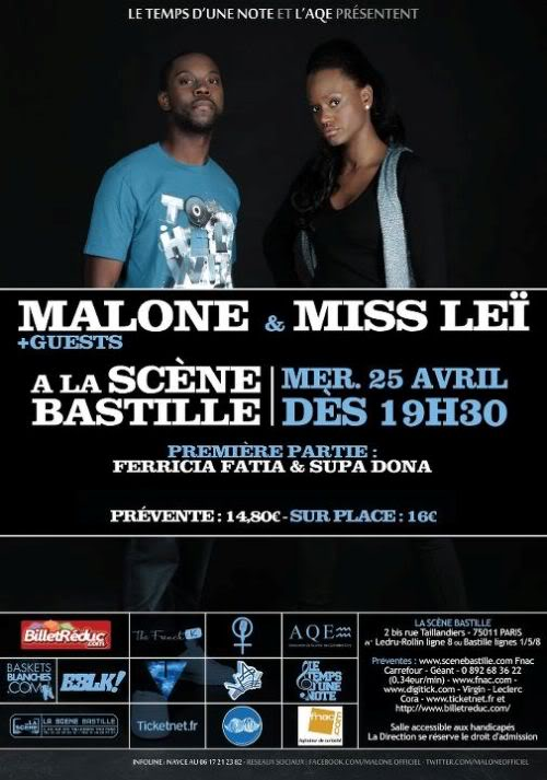 Malone - Life Airlines + Gagne ta place de concert. Malone