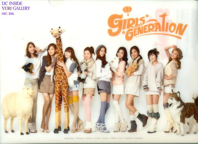 {Scans} Girls' Generation for Goobne 01-2
