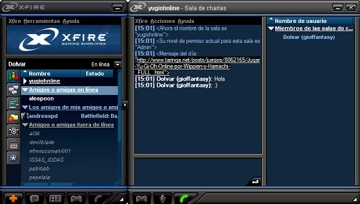 ♣ XFIRE - Chat para Gamers ♣ Yg2