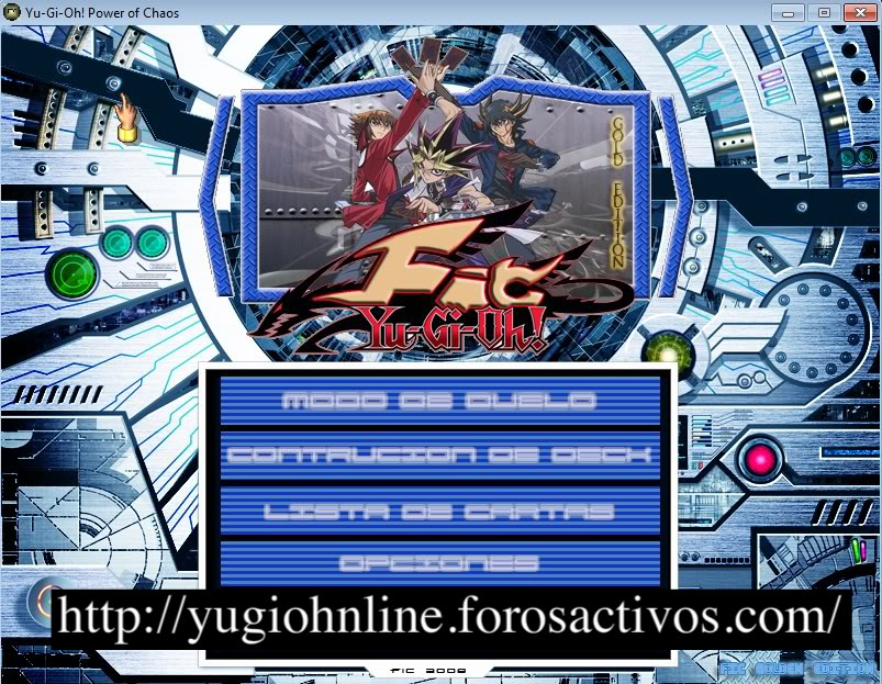 Yu-Gi-Oh! Joey the Passion Data Fic Gold Edition. Yugi1