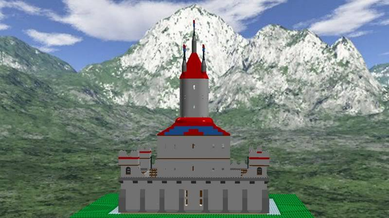Castle MOC Finished5