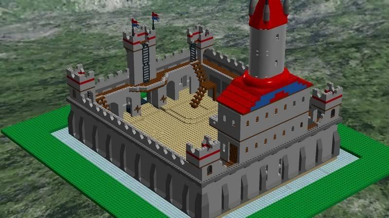 Castle MOC Finished6