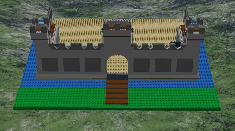 Castle MOC Front-outside1