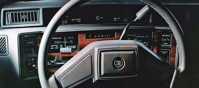 My LSx Swapped Box 1986CadillacDeVilledigitaldash