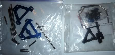 Un ERBE brushed pour l'hiver, et un brushless pour l'été PB190021