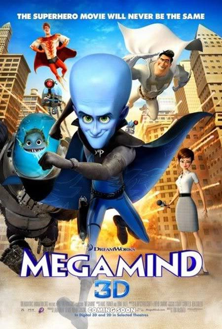 What was the last movie you watched? MegaMind