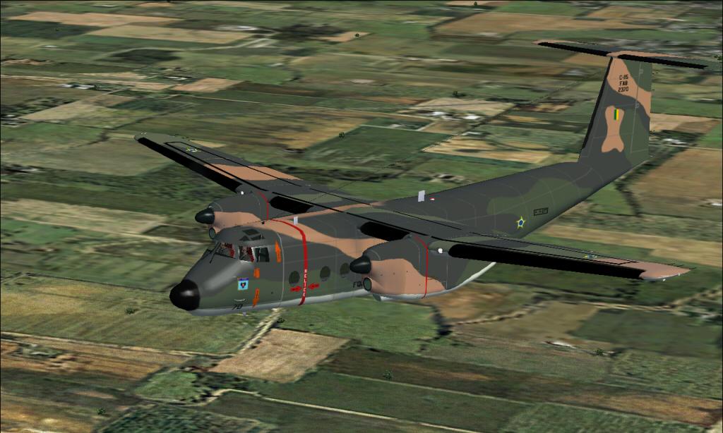 C-115 Búfalo da FAB padrão 1985 à 2007 Fs92014-03-2922-08-54-74