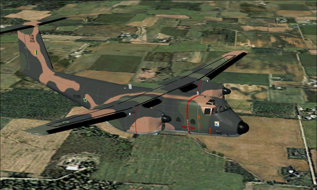 C-115 Búfalo da FAB padrão 1985 à 2007 Fs92014-03-2922-15-35-71