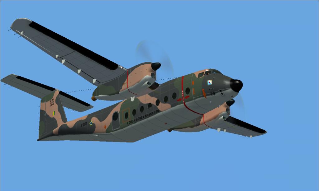 C-115 Búfalo da FAB padrão 1985 à 2007 Fs92014-03-2922-20-57-23