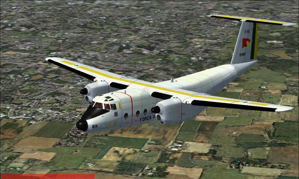 C-115 Búfalo da FAB padrão 1978 À 1987 Fs92014-03-2923-23-14-38