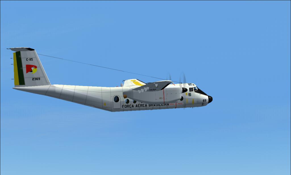 C-115 Búfalo da FAB padrão 1978 À 1987 Fs92014-03-2923-28-11-88