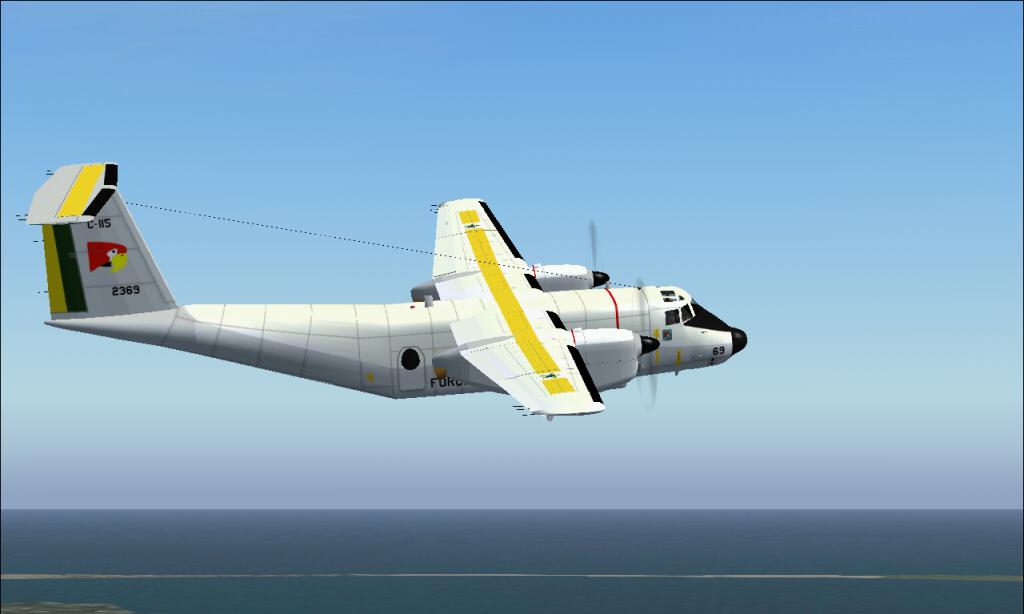 C-115 Búfalo da FAB padrão 1978 À 1987 Fs92014-03-2923-28-50-53