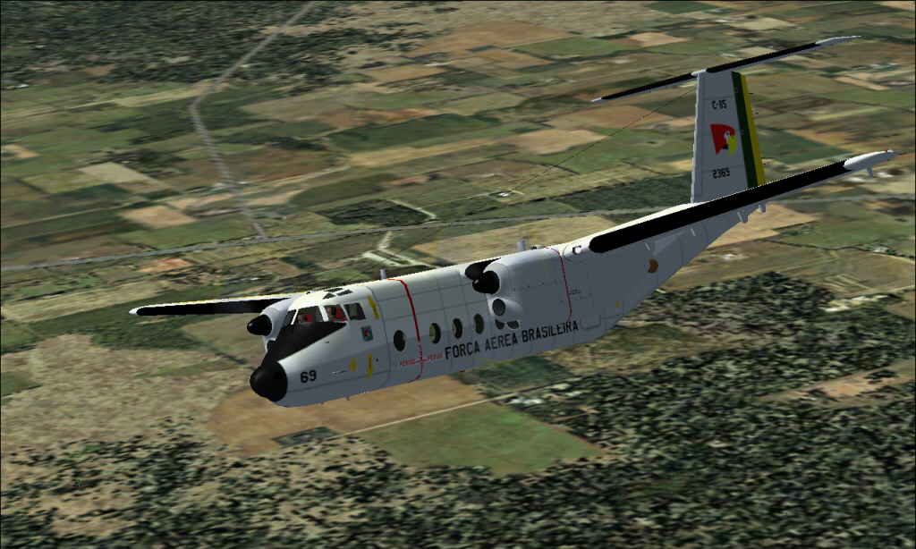 C-115 Búfalo da FAB padrão 1978 À 1987 Fs92014-03-2923-30-22-62