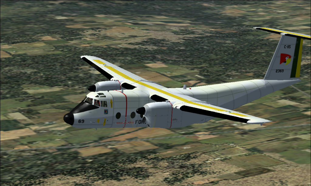 C-115 Búfalo da FAB padrão 1978 À 1987 Fs92014-03-2923-30-54-41