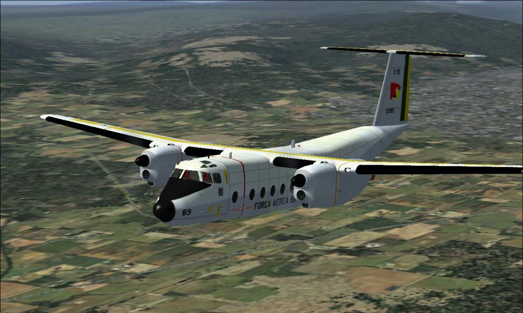 C-115 Búfalo da FAB padrão 1978 À 1987 Fs92014-03-2923-31-20-50