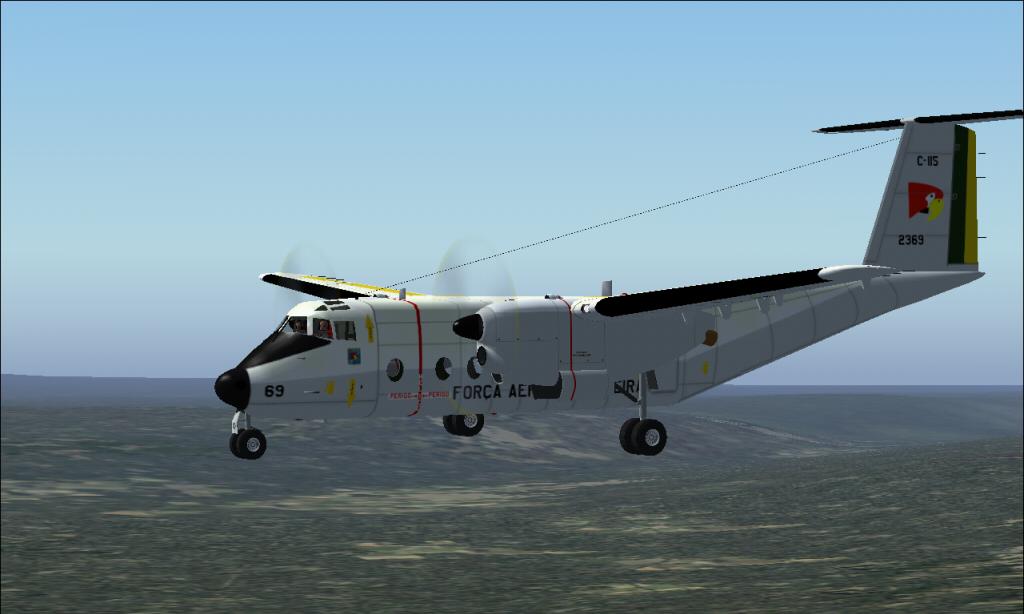C-115 Búfalo da FAB padrão 1978 À 1987 Fs92014-03-2923-32-57-06
