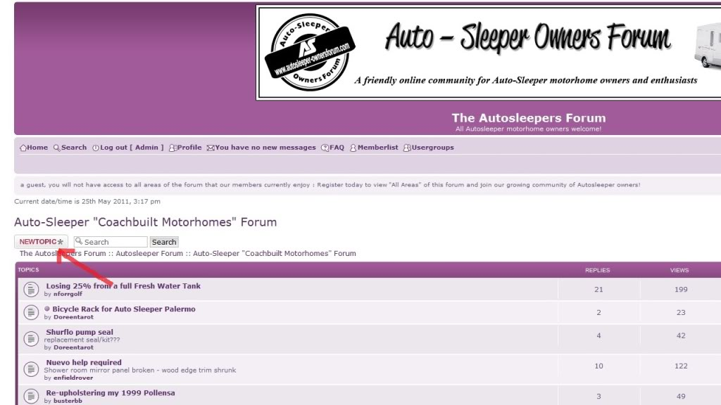 How to post or reply to topics on ASOF 2newtopic