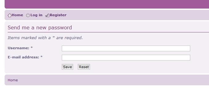 Forgotten User Names or Password Help Sendpass