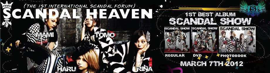 SCANDAL SHOW Layout Banner Contest BannerSS-01