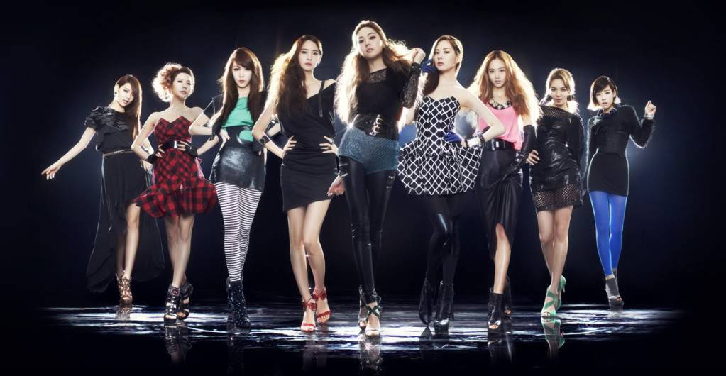 "[27052011][News]SNSD phát hành audio teaser cho ""Let it rain"" và ""I'm in love with the hero"" Asia-tour"