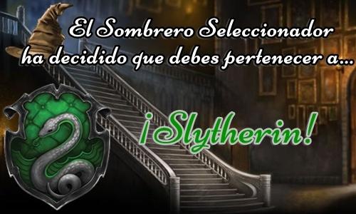 Sombrero Seleccionador de Schliemann Slytherin_1