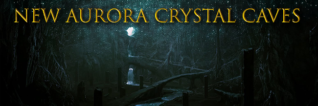 New Aurora Crystal Caves Crystals