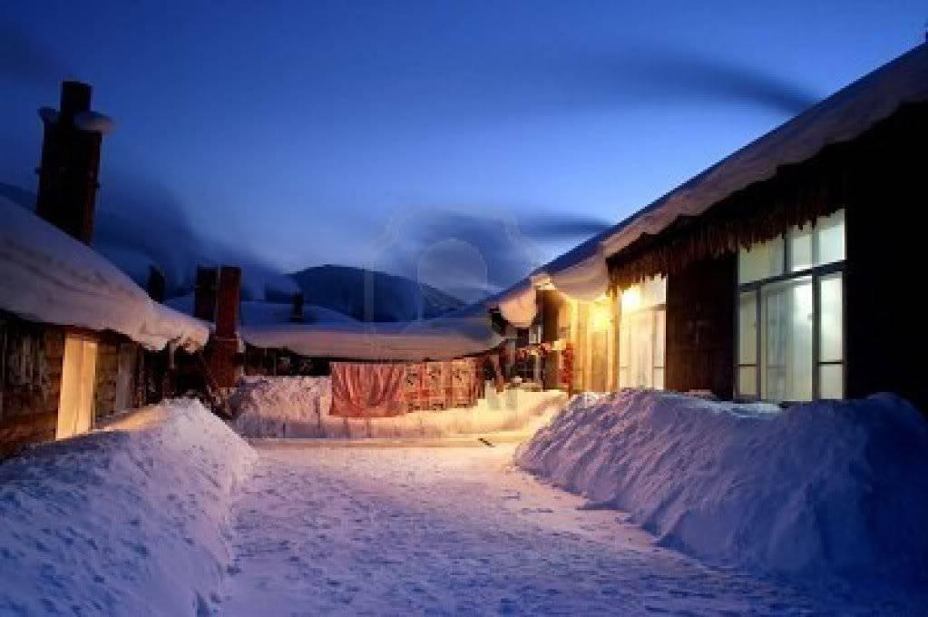 Ita Compound 6006670-snow-village