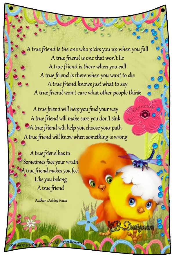 ~ Friendship Card's Collection by Nanncian Design ~ - Page 2 A-true-friend
