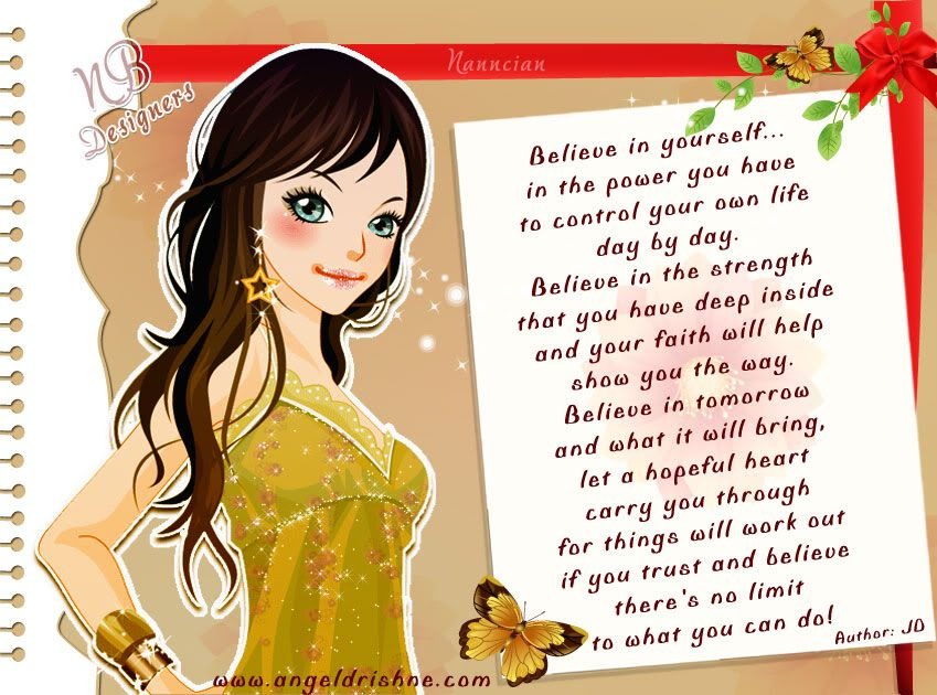 ~ Inspirational Cards Collection Design By Nanncian ~ - Page 2 Believe-in-Yourself