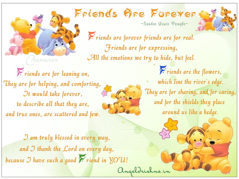 ~ Friendship Card's Collection by Nanncian Design ~ - Page 3 Friends-Are-Forever