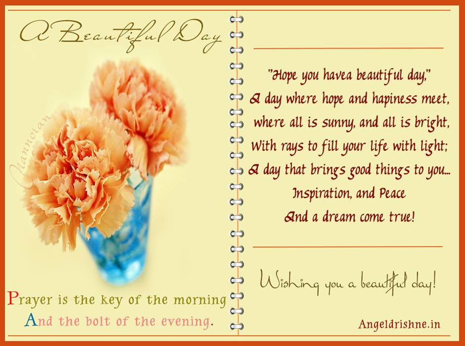 ~ Good morning  Card  design By Nanncian ~ - Page 2 A-Beautiful-Day