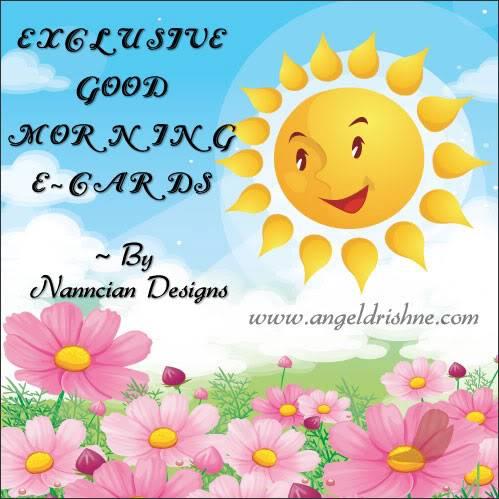 ~ Good morning  Card design by Nanncian ~ GM-cover-N
