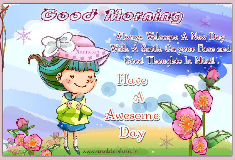 ~ Good morning  Card  design By Nanncian ~ - Page 2 Good-Morning-8