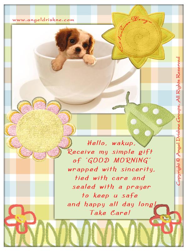 ~ Good morning  Card design by Nanncian ~ Good-Morning-Card-4