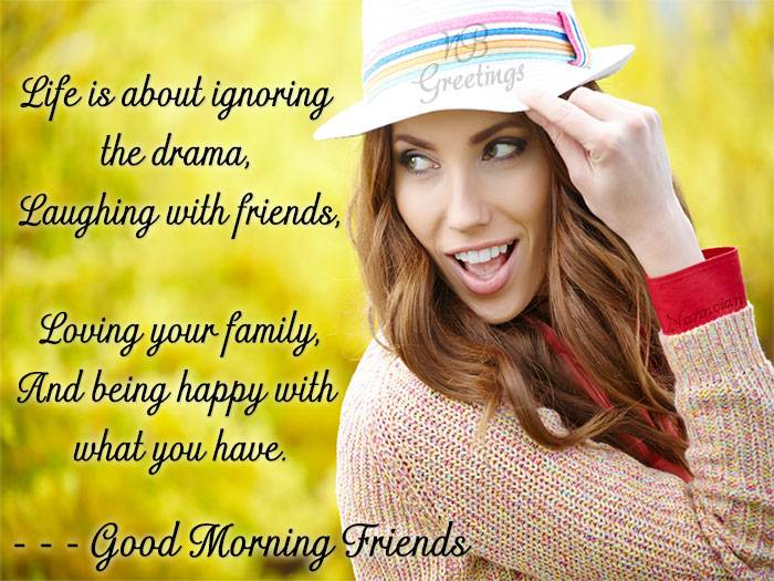 Good Morning Quotes Card