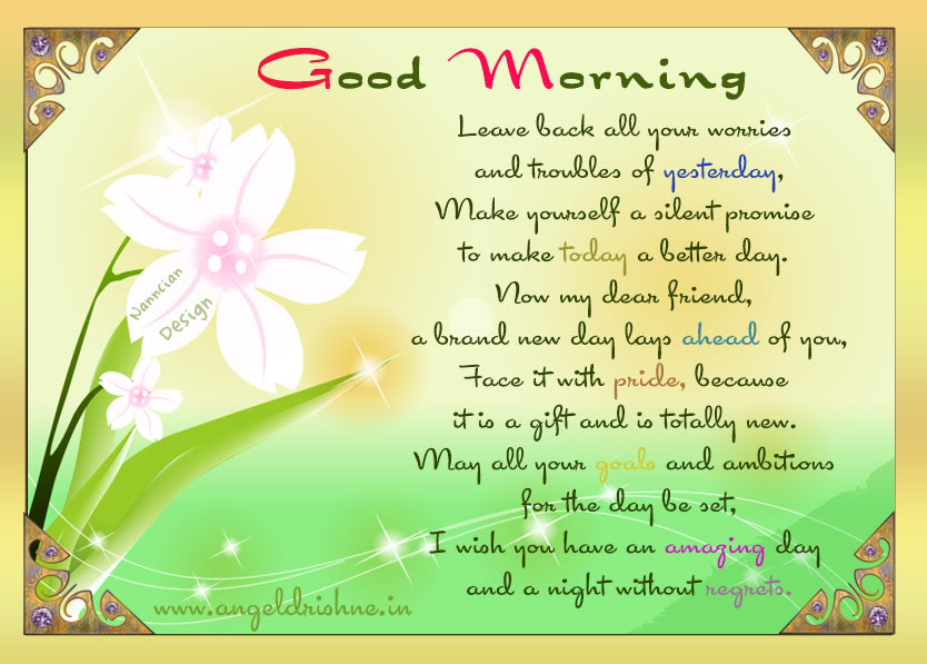 ~ Good morning  Card  design By Nanncian ~ - Page 2 Good-Mornng