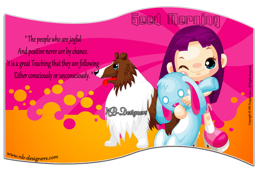 ~ Good morning  Card  design By Nanncian ~ Quotes