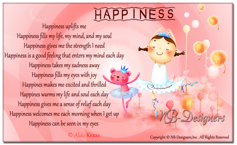 ~ Inspirational Cards Collection Design By Nanncian ~ - Page 2 Happiness