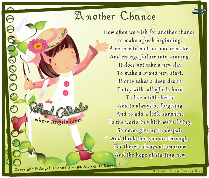 ~ Inspirational Cards Collection Design By Nanncian ~ - Page 2 Another-Chance