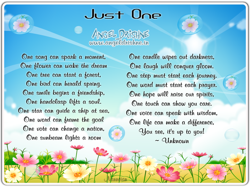 ~ Inspirational Cards Collection Design By Nanncian ~ - Page 2 Just-One