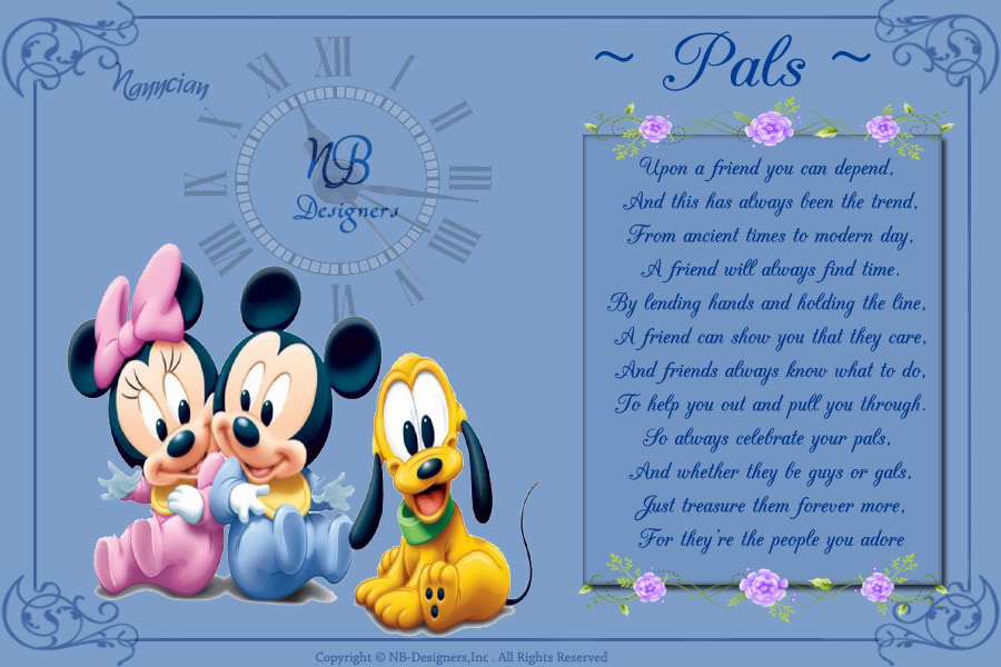 ~ Friendship Card's Collection by Nanncian Design ~ Pals