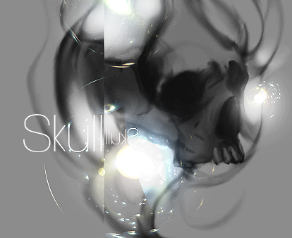 Gracias ♥ Skull