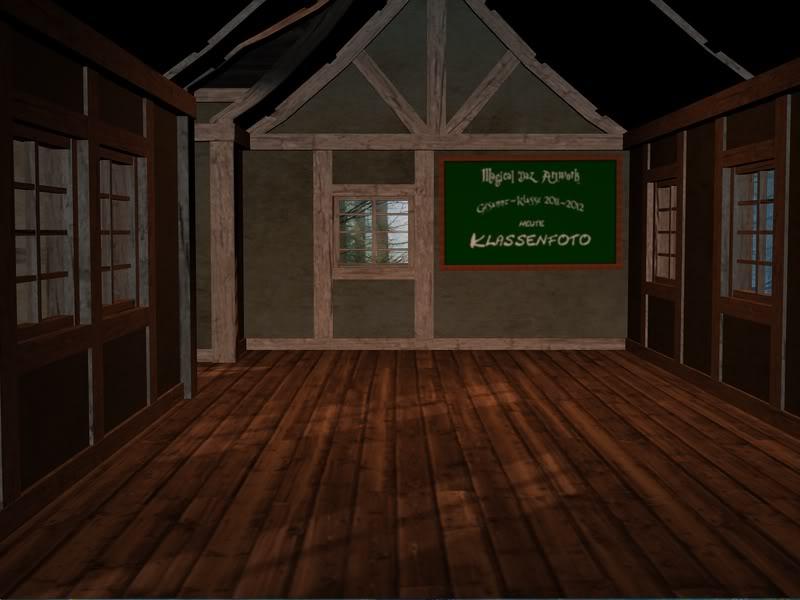 Nur noch dieser eine ... letzte ... Proberender ... Klassenzimmer