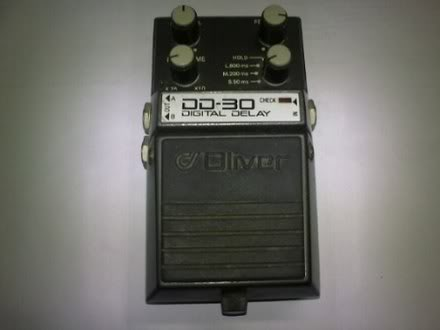 Pedais Oliver DD-30